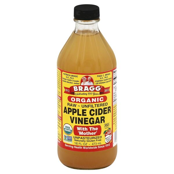 Bragg Organic Apple Cider Vinegar, Raw, Unfiltered, with
