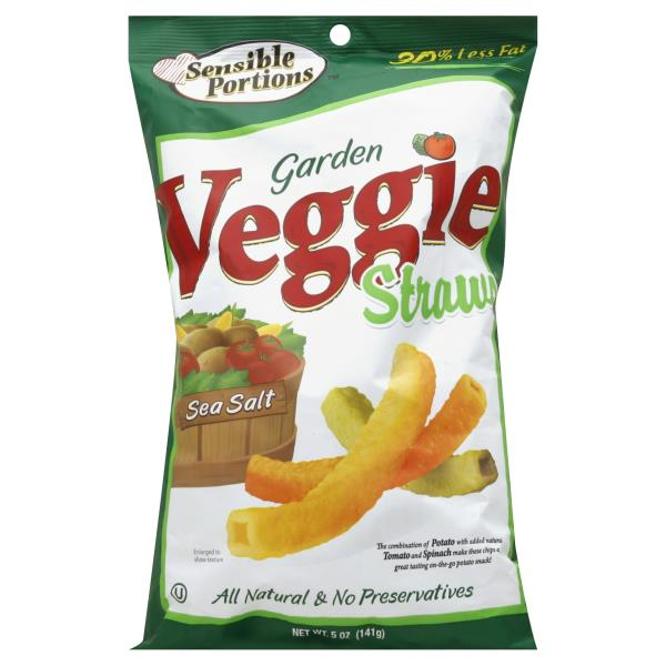 Sensible portions garden veggie straws sea salt be my - Sensible portions garden veggie chips ...