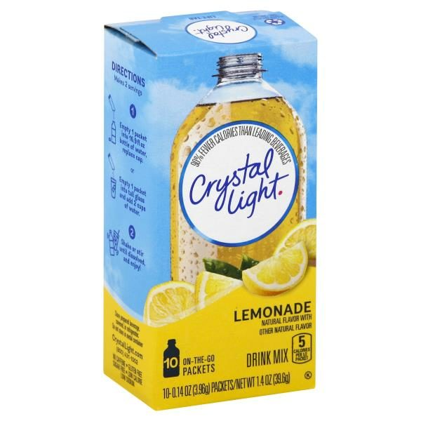 Crystal Light Drink Mix, Lemonade 1