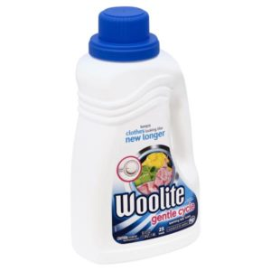 Woolite Laundry Detergent, Gentle Cycle, Sparkling Falls Scent