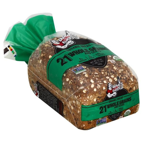 Daves Killer Bread Bread, Organic, 21 Whole Grains and Seeds 1