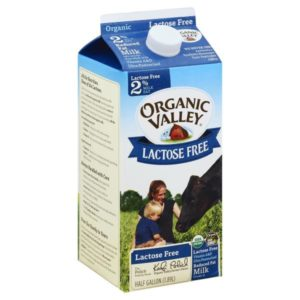 Organic Valley, Lactose Free Milk, 2%